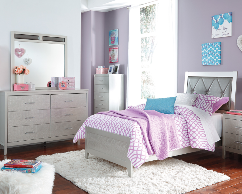 Ashley Olivet Twin Rent To Own Youth Bedroom Sets A Rentals